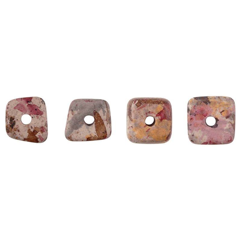 Ceramic Beads Whoelsale-13mm Abstract-Vintage Splash-Quantity 20 Grams