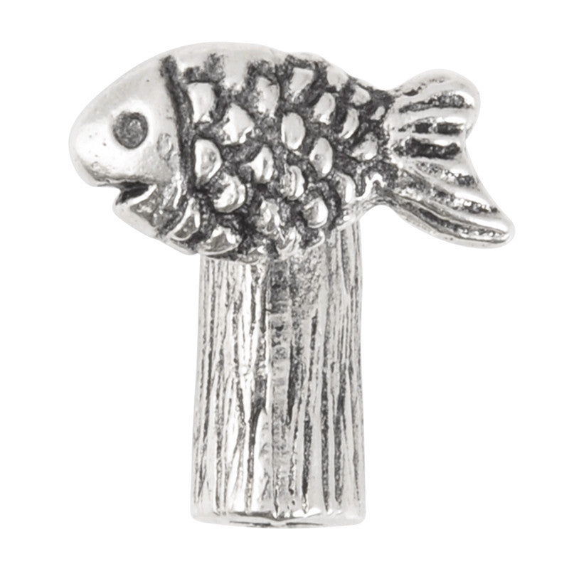 Clasp-37x16mm Sealife Clasp-Antique Silver