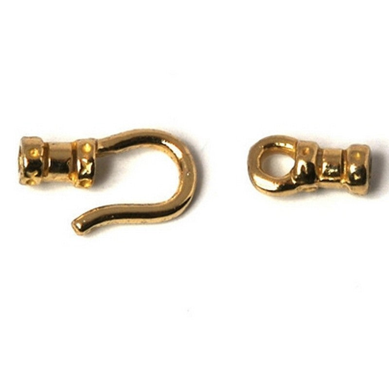 Findings-Cord End-(Fits Our 1mm Cord)-Brass-Quantity One Set