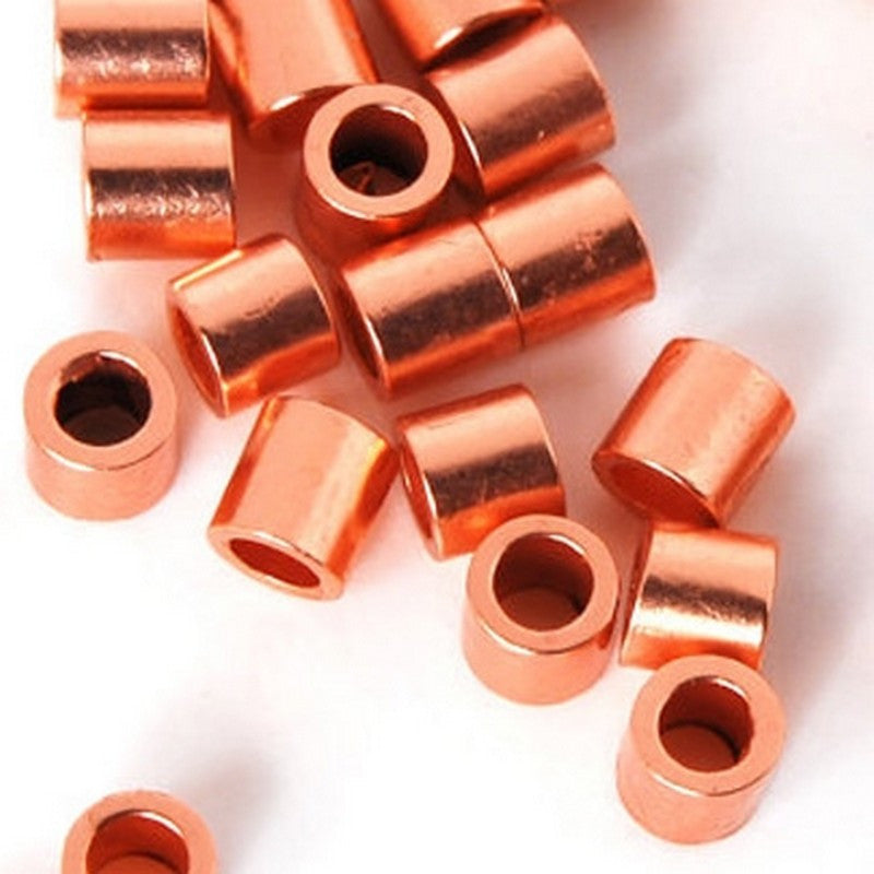 Findings-2mm Crimp-Copper Plate-Quantity 100