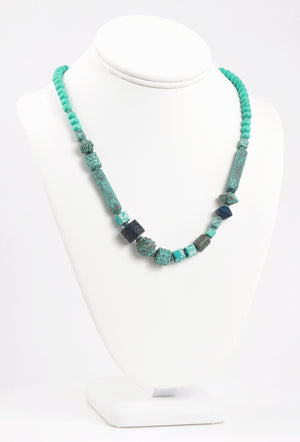 Finished Jewelry-Viridian Vibrance Necklace