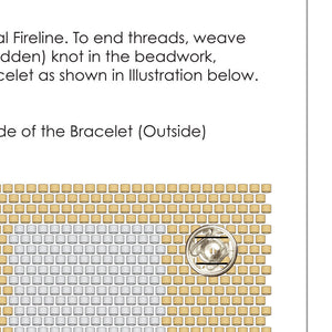 Free Beading Patterns-Pdf Pattern-Sandbox-24kt Gold