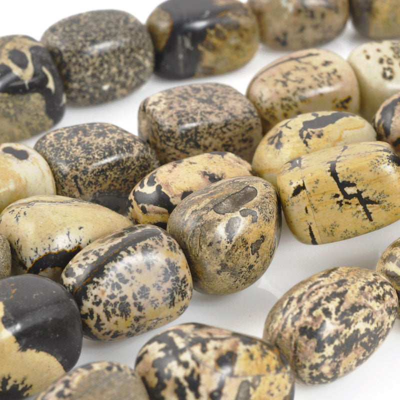Gemstone Beads-15x12mm Dalmatian Jasper