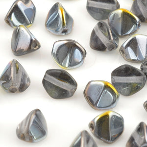Glass-5mm Pinch Bead-Crystal Marea-Czech