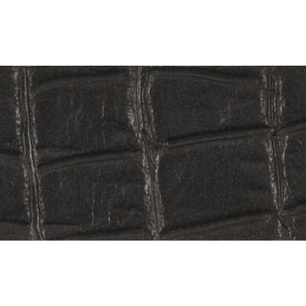 TierraCast-Leather-1/2x10 Inch Strip-Black Hornback