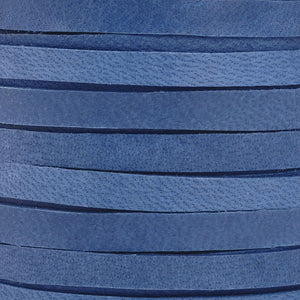 Leather-3mm Deerskin Lace-1/8 Inch-Cadet Blue