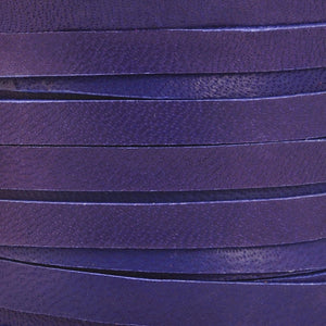 Leather-5mm Deerskin Lace-Purple