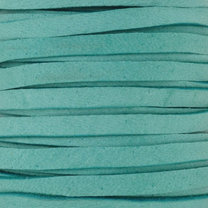 Leather-5mm Deerskin Lace-Turquoise