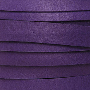 Leather-5mm Deertan Lace-Violet