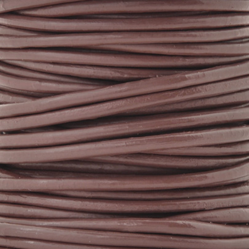 Leather Cord-2mm Round-Enland-10 Meters