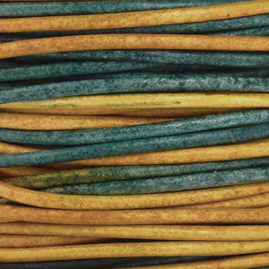 Leather Cord-2mm Round-Soft-Natural Gypsy Berol