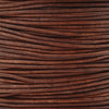 Leather Cord-Round-Soft-Natural Red Brown