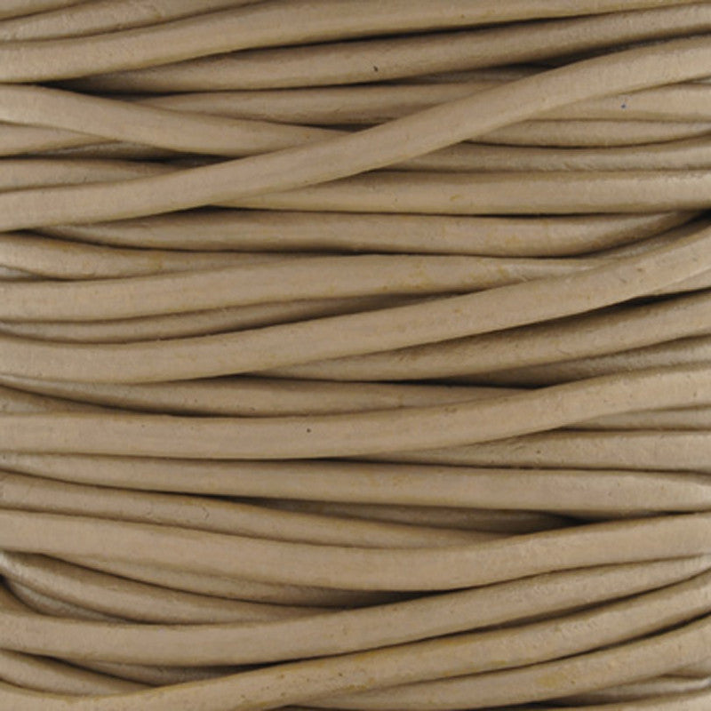 Leather Cord-Round-Soft-Beach
