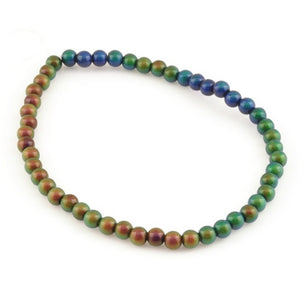 Mirage-6mm Round Bead-Color Changing-Quantity 50