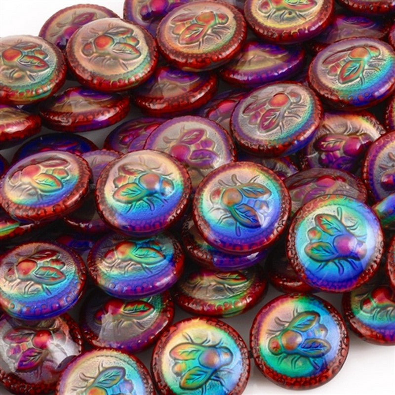 Mirage-9x19mm Bee-Lightful Bead-Color Changing-Quantity 1