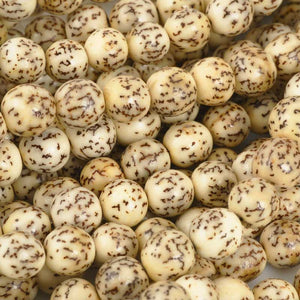 Natural Beads-8mm Round-Salwag-Natural Pucalet