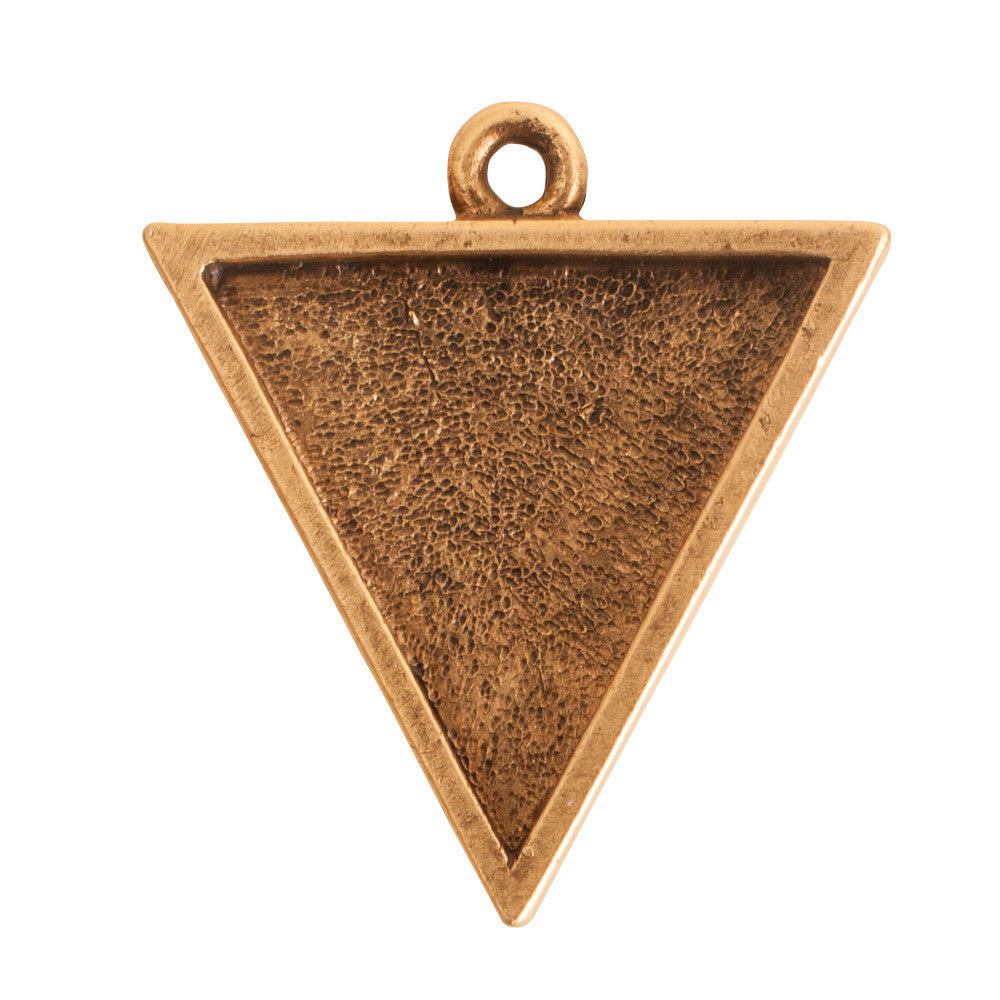 Nunn Design-Bezel-25mm Large Pendant Triangle