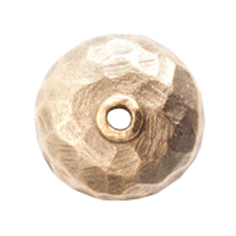 Nunn Design-Findings-10mm Hammered Bead Cap