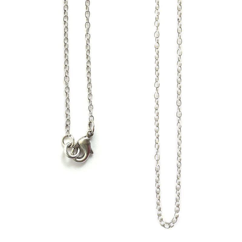 Nunn Design-Jewelry Chain Necklace-Delicate Link-Antique Silver