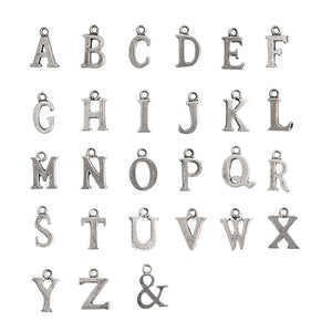 Nunn Design-Pewter-10mm Charm Initial G