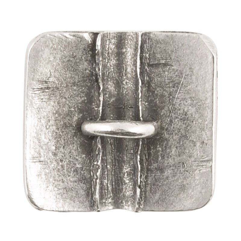 Button-18mm Beauty-Antique Silver