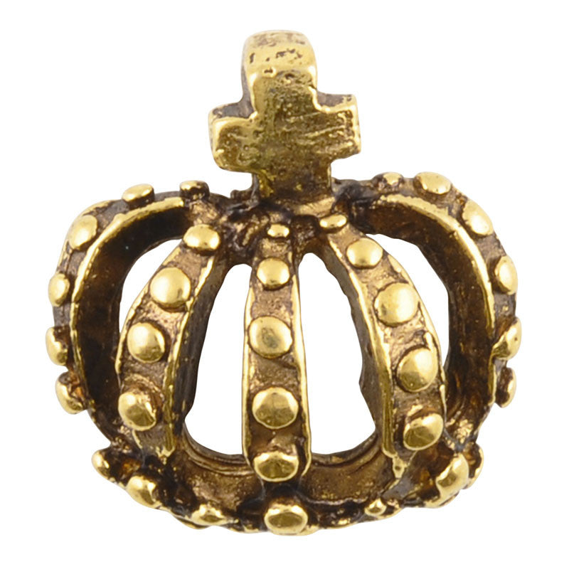 Casting-18mm Crown-Antique Gold