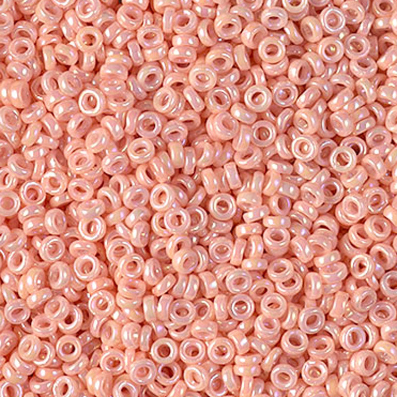Seed Beads-2.2mm Spacer-596 Opaque Tea Rose-Miyuki