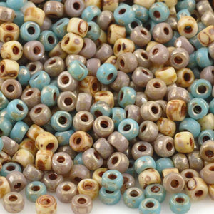 Seed Beads-8/0 Matubo-29 Beach Mix-Czech