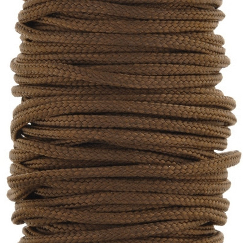 Supplies-2mm Nylon Cord-Light Brown-3 Meters