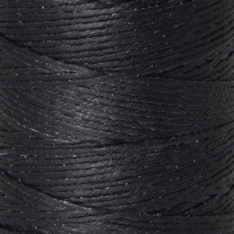 Supplies-2-Ply Waxed Irish Linen-Black