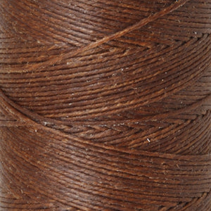 Supplies-2-Ply Waxed Irish Linen-Walnut Brown