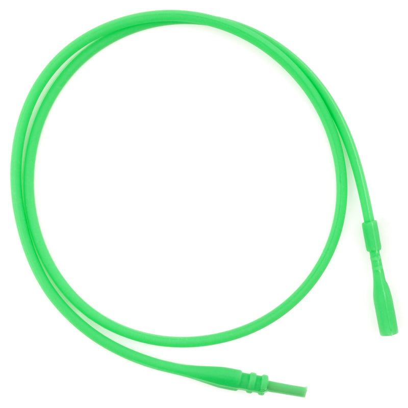 Supplies-2mm Silicone Rubber Necklace-Green-16.5 Inches-Quantity 1