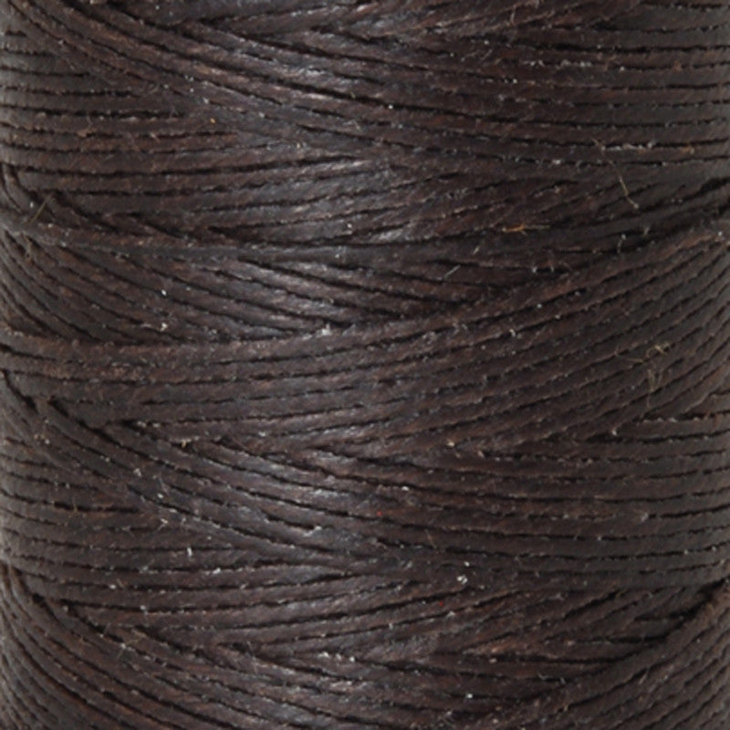 Supplies-3-Ply Waxed Irish Linen-Dark Chocolate