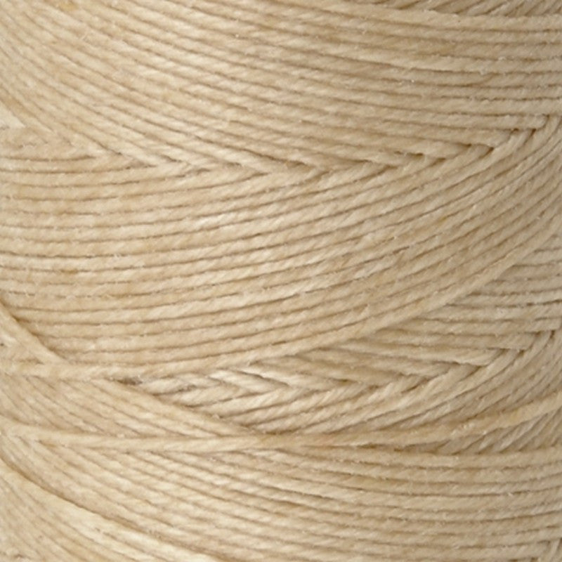 Supplies-3-Ply Waxed Irish Linen-Natural