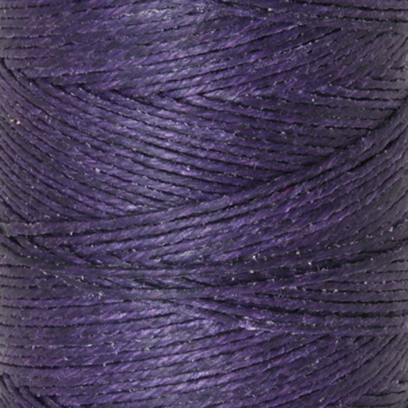 Supplies-3-Ply Waxed Irish Linen-Plum