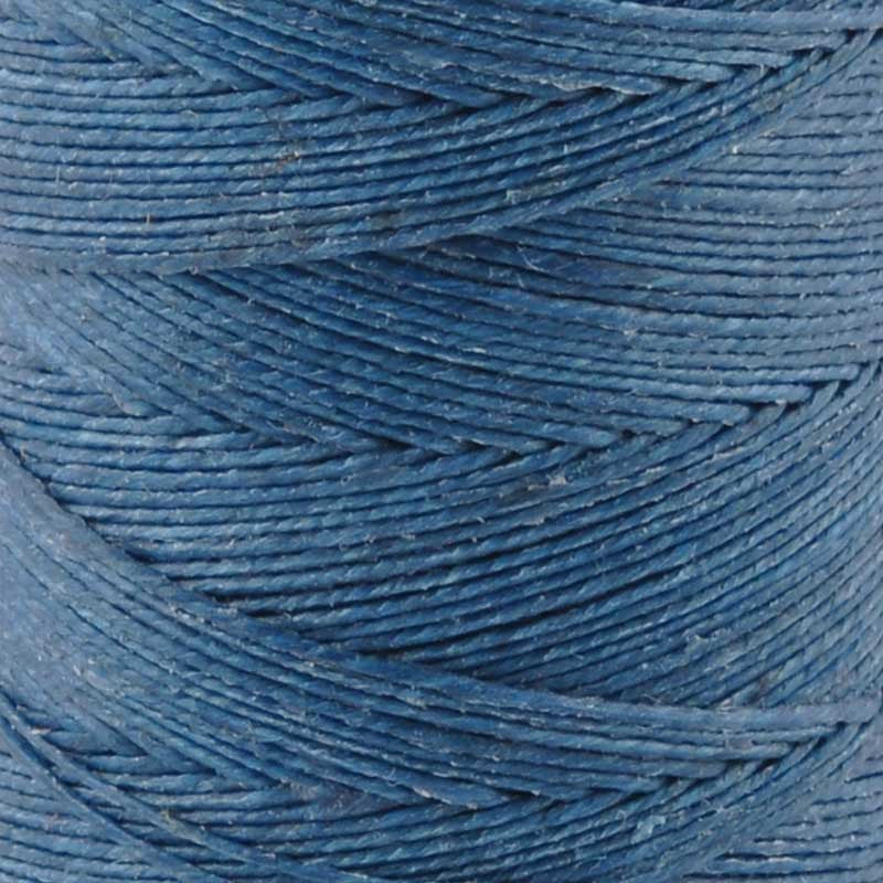 Supplies-3-Ply Waxed Irish Linen-Royal Blue