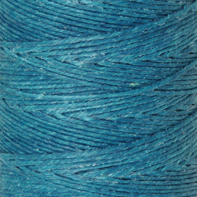 Supplies-3-Ply Waxed Irish Linen-Teal
