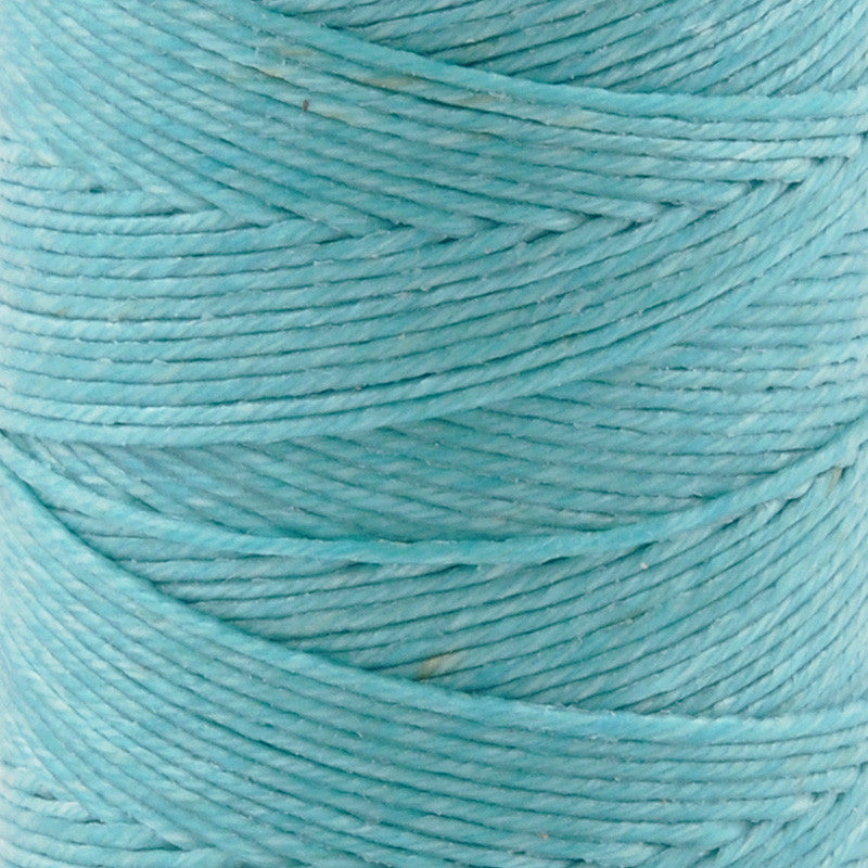 Supplies-3-Ply Waxed Irish Linen-Turquoise