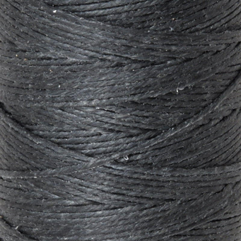 Supplies-4-Ply Waxed Irish Linen-Charcoal Grey-10 Yards