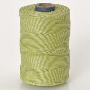 Supplies-4-Ply Waxed Irish Linen-Country Yellow-100 Yard Spool