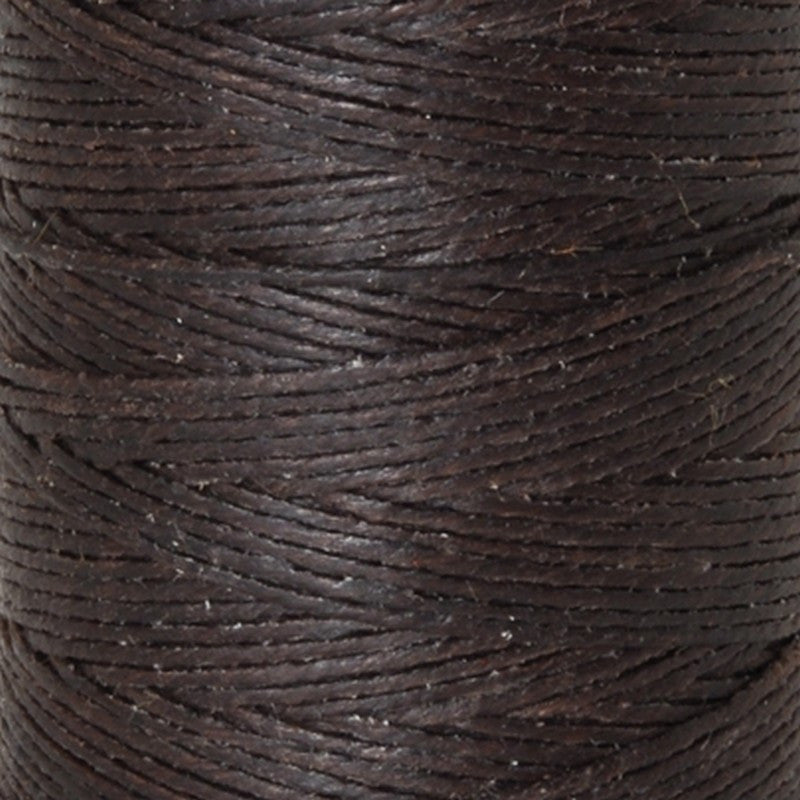 Supplies-4-Ply Waxed Irish Linen-Dark Chocolate