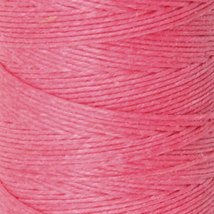 Supplies-4-Ply Waxed Irish Linen-Fuchsia