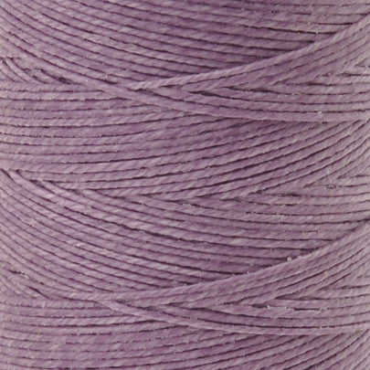 Supplies-4-Ply Waxed Irish Linen-Lavender