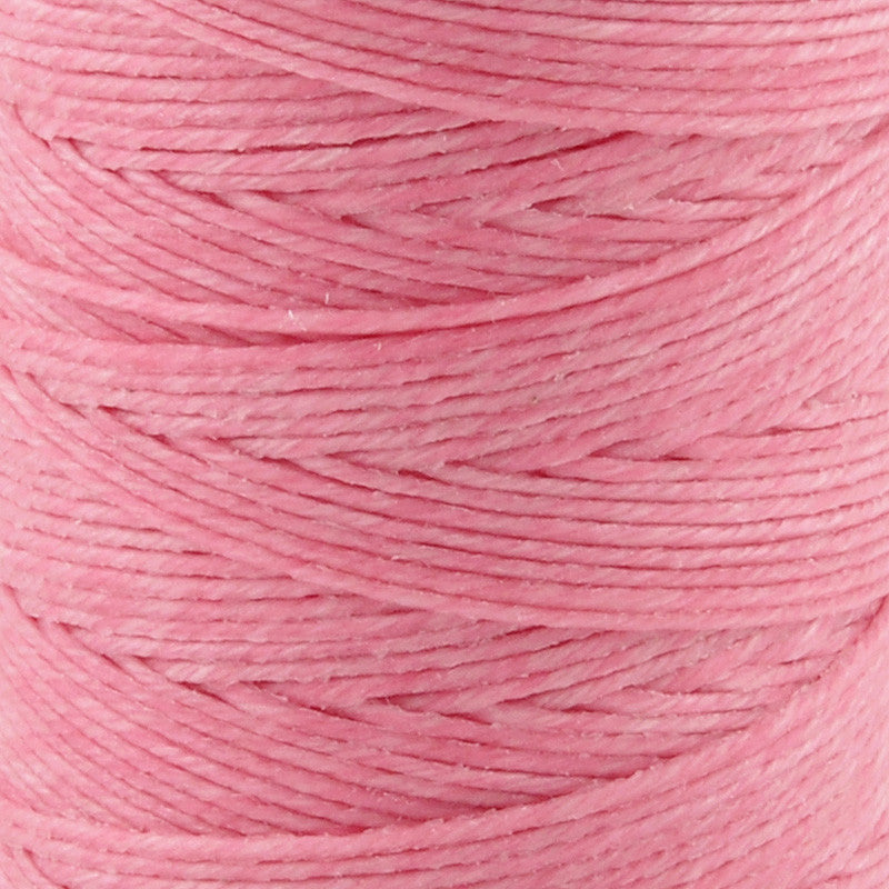 Supplies-4-Ply Waxed Irish Linen-Light Rose