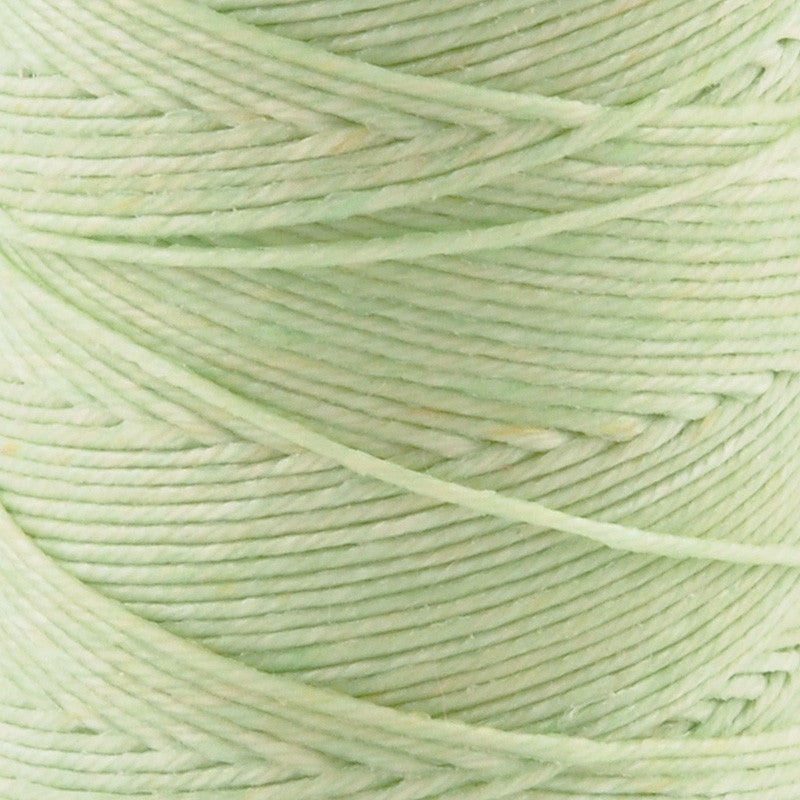 Supplies-4-Ply Waxed Irish Linen-Mint Green