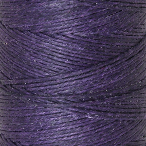 Supplies-4-Ply Waxed Irish Linen-Plum