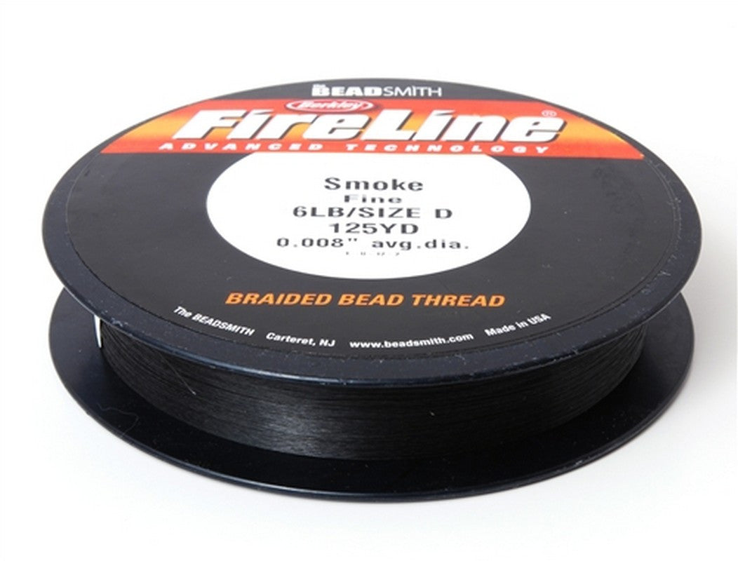 Supplies-6Lb. Fireline Thread-Smoke-125 Yards