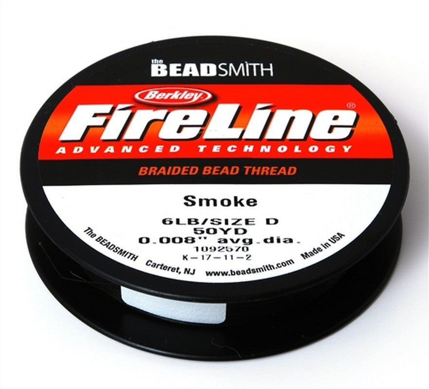 Supplies-6Lb. Fireline Thread-Smoke-50 Yards
