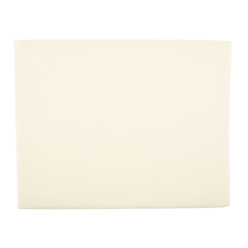 Bead Supplies-Vellux Bead Mat Work Surface-Supersoft and Plush-Cream-Quantity 1