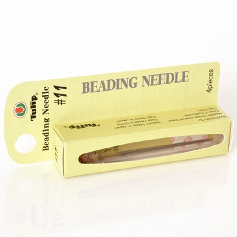 Supplies-Beading Needles-Tulip-Size 11-Quantity 4